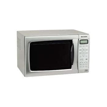 Sharp R254SLM Compact Solo Silver 20L 800W Touch Control Microwave