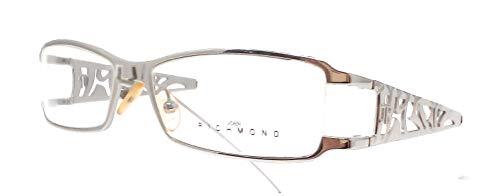 John Richmond Damen Brillengestell Grau und Weiß 52