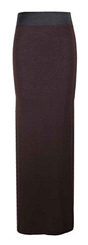 Generic - Jupe - Évasée - Femme Multicolore Bigarré Taille Unique Marron - Marron