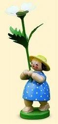 Wendt & Kühn Blumenmädchen mit Buschwindrose Größe 12 cm (12 Blumenmädchen)