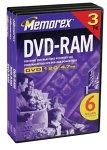 Memorex 4.7GB DVD-RAM 3-Pack Discontinued by Manufacturer