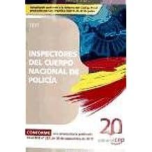 Test - inspectores del cuerpo nacional de policia