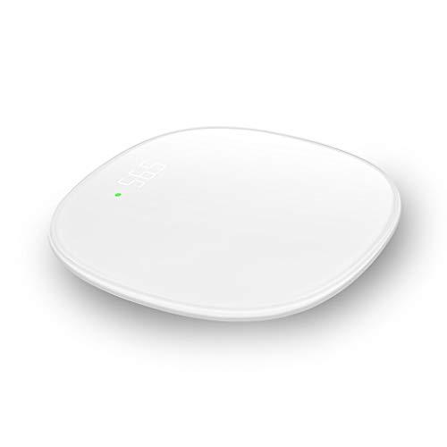 Básculas de cocina Balanza electrónica electrónica digital del disco de la transmisión de datos de WiFi del hogar del cuarto de baño digital inteligente del hogar 330 libras Básculas de cocina