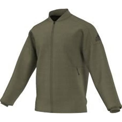 Adidas z.n.e giacca da allenamento, Uomo, Z.n.e., Olive Cargo, XL