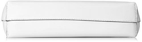 Chicca Borse 8700, Borsa a Spalla Donna, 32x31x8 cm (W x H x L) Bianco