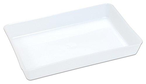 Betzold 70883 - Materialschalen, klein, milchweiß, Inhalt 5 Stück - Aufbewahrungsschalen Bastelschalen