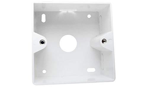LogiLink Professional NP0223 Aufputzgehäuse (Aufputzrahmen) für Unterputzdosen, Macht aus Unterputzdosen Eine Aufputzversion
