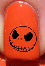 Halloween Jack skellington - Stickers pour ongles YRNAILS
