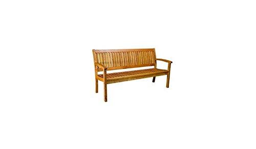 Massive 3-Sitzer Holz-Gartenbank / Holz-Bänke 'Ottawa II' aus langlebigem, geölten Robinien-Holz....