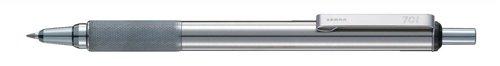 zebra-f701-ball-pen-retractable-stainless-steel-medium-black-ref-44970