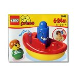 LEGO PRIMO 2098 Dampfer mit Pfiff