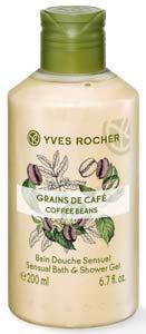 Yves Rocher-Caffè di gel doccia (200ML o 400ML): L' AROMA chicchi di caffè tostato per la doccia