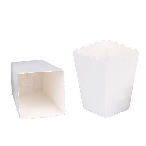 Zooyoo vuoto bianco cartone carta messaggio di biglietti da visita Word card DIY tag regalo di 100/pz White