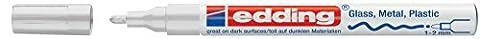 edding Glanzlack-Marker creative 751, 1 - 2 mm, weiß