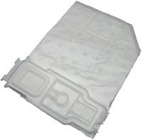 24 Staubsaugerbeutel, 5 lagig, aus hochwertigem Premium - Microvlies, für Allergiker geeignet, passend für Vorwerk - Kobold 135 / 136 / 135SC / VK135 / VK136 / FP135 / FP136 / FP135 SC (Wei)