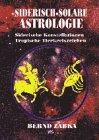 Siderische Astrologie. Siderische Sternbilder, Solare Tierkreiszeichen