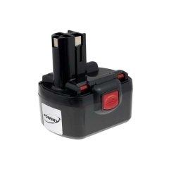 Batteria per Bosch Trapano avvitatore GSR 14,4VE-2 NiCd O-Pack Cellule giapponesi, 2500mAh/36Wh, 14,4V, NiCd