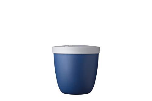 MEPAL 107653016800 Snack Pot, PP, Nordic Denim, 107 mm