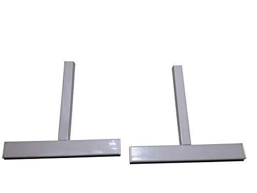 2 Metallstandfüße für Infrarotheizungen der Könighaus P-Serie
