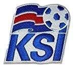 MAREL Patch Islandia Selección Fútbol FIFA Soccer