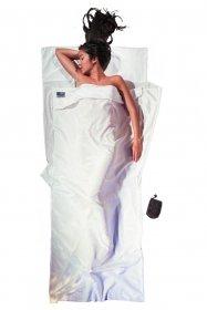 Cocoon MummyLiner - Sacos de dormir - Silk azul...