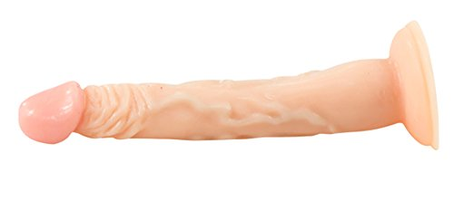 Lover Dildo mit praller Eichel und Saugfuß – 16 cm lang, Ø 2,3-2,8 cm. Hautfarbe You2Toys - 3
