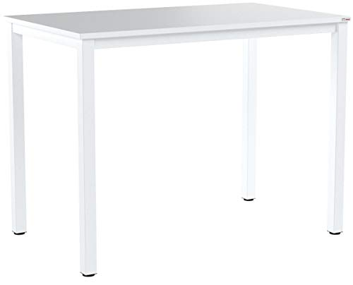 SogesHome Computer Desk 100 x 60 x 75 cm PC Desk Office Desk Workstation for Home Office Use Writing Table,Dinner Table Conference Table,AC3DW-100-SH