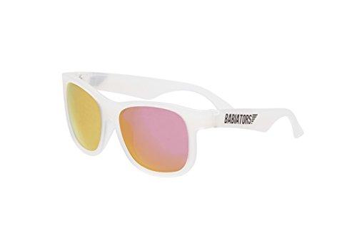 Babiators Mädchen Navigators Uv-Sonnenbrille, Pink Ice, 3-5 Jahre