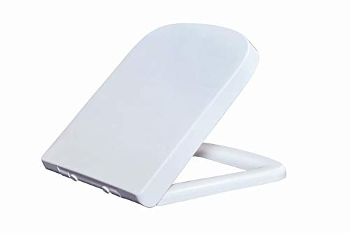 Durable Toilet Seat, Soft Close Hinge Toilet Lid Cover for Bathroom - Soft-close Seat-cover