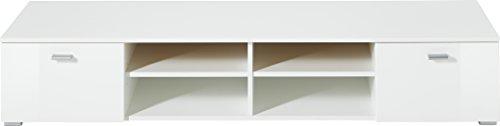 Germania 3666-84 Lowboard Holz, weiß - 3