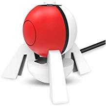 OIVO Controller Ladegerät kompatibel mit Nintendo Switch Pokeball Plus Controller, kompatibel mit Nintendo Pokémon Lets Go Pikachu Eevee Game -