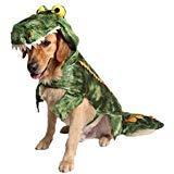 Coppthinktu Alligator Hundekostüm Halloween Hund Krokodil Kostüm Hoodie Mantel Haustier Jumpsuits, Large, - Alligator Kostüm