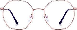 JM Damen Anti Blaues Licht Blockierung Brillen Mode Designer Computer Gläser Reduzieren Auge Belastung Rosa