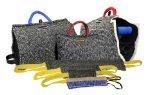 Dean & Tyler 8-teilig Professionelles Training Bundle Set für Hunde mit 1Puppy Sleeve/1Zero Bite Sleeve/1x-Builder Manschette/2Pocket Tugs/2Kleine schleppboote/1Medium Tug