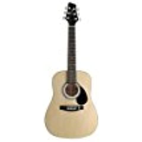 Stagg SW201 1/2 N Natural Dreadnought chitarra acustica naturale