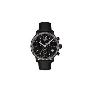 Tissot T0954173605702 Reloj cronógrafo de cuarzo, suizo, carcasa de acero,