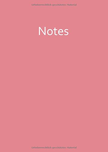 Notizbuch - A4 - STRAWBERRY ICE: Notes - rosa - liniert