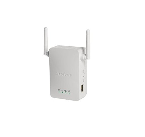 Netgear WN3000RP-200PES Universal Wifi Range Extender (Cream White)