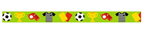 Ursus 590500136Masking Tape, Aprox. 15mm x 10m, Fútbol