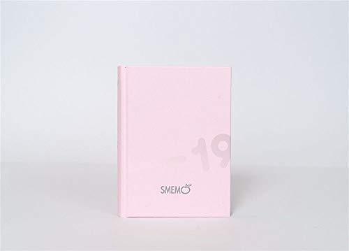 Diario scuola smemoranda 100% made in italy rosa pocket 2018-19 + penna glitterata omaggio + omaggio segnalibro