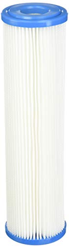 Pleated Filter Media (Polyester Pleated 30 Micron Under Sink Replacement Filter by Hydronix)