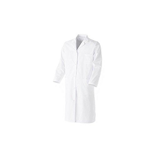 Laborkittel, kurz, Weiß, Größe 10bis 16Jahre, 100% Baumwolle, für Chemieunterricht Gr. 12...