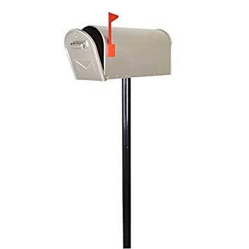 Rottner Briefkasten-Ständer Stahl für Mailbox im US-Stil