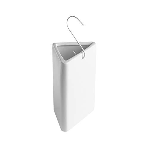 BonAura 4er Set Luftbefeuchter Heizung für angenehme Atmung im Winter - Keramik Heizkörper Luft Befeuchter - Den Verdampfer einfach mit Wasser befüllen (Dampf-heizkörper-heizungen)