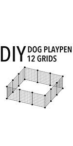 Zoom IMG-1 allisandro recinto per cucciolo coniglio