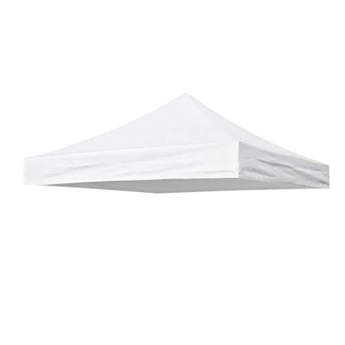 P Prettyia Zeltplane Camping Zelt Tragbar Regenschutz Wasserdicht Schutzplane - Weiß 3x3m, 3x3m
