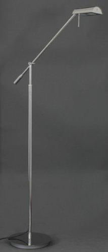 Briloner Leuchten LED Stehleuchte, 2x LED-Modul, 5 W, chrom 1300-018