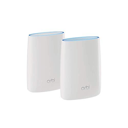 Netgear Orbi RBK50 Tri Band Mesh WiFi System (White)