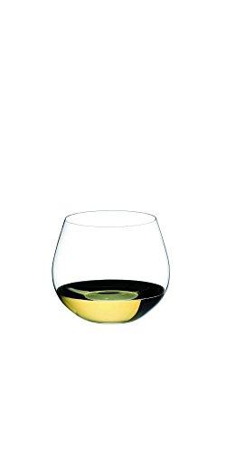 RIEDEL 0414/97 O Wine Tumbler Oaked Chardonnay, 2-teiliges Weißweinglas Set, Kristallglas Chardonnay Wine Tumbler