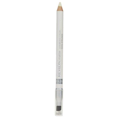 Revlon Matte Luxurious Color Kohl Eyeliner - 04 Pure White
